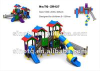Hot sales Lovely design Children Outdoor Playgrounds Equipment , house play