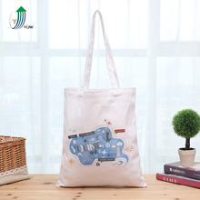 Heavy duty eco friendly natural cotton hand bag for women