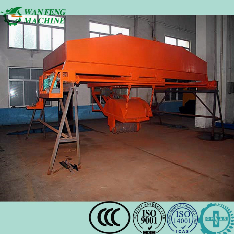 compost machine / poultry waste cow dung chicken manure organic fertilizer composting plant