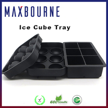 hotselling 2016 BPA free custom Silicone Ice Cube Trays with lips