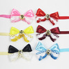 Fashion British Style Pet Dog Bow Tie Adjustable Cute Gift Dog Collar Pet Accessories
