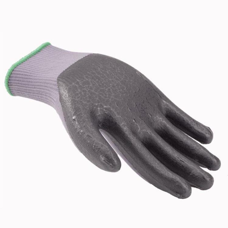 Breathable Micro Foam Nitrile Palm Coated Knit Assembly Gloves