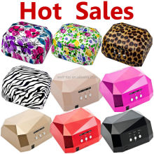 Christmas gifts on promotion rechargeable uv lamp dryer48w ccfl portable mini uv led nail lamp