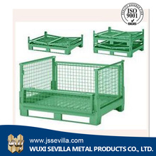 Stackable Wire Storage Cargo Used Steel Roll Container For Sale