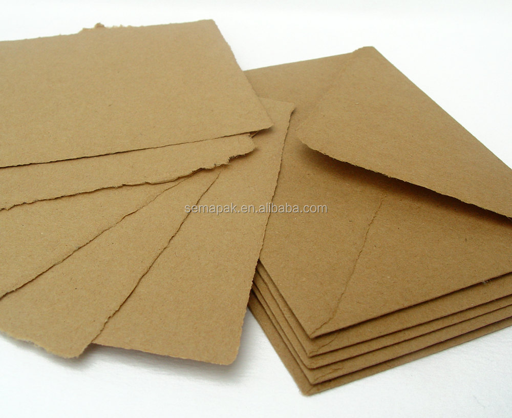 A4/A5 size customized white kraft paper envelope&emvelope&paper envelope