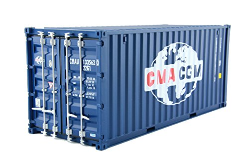ABS 20' 1:20 container model shipping model metal