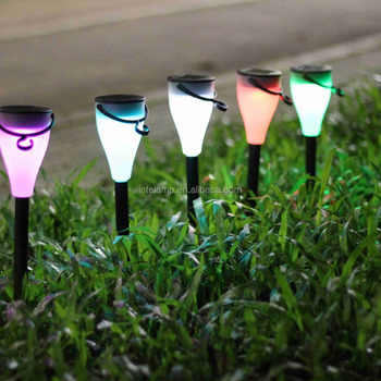 European solar garden lawn light IP65 Solar Landscape Light for grass using