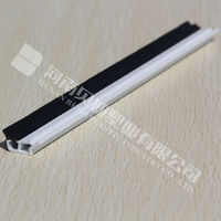 UPVC Glazing Bead Profiles Plastic PVC Profile PVC hollow Profile Window Glaze Bead