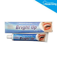 fmcg FDA approved privated brand name 150g cream pasta dental fluoride free bright whitening toothpaste for adult