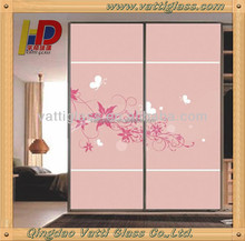 tinted tempered glass/interior wall paneling/exterior wall panels