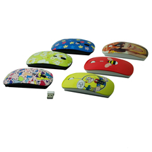 Hot selling sublimation change frequency wireless mouse