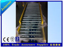 chain driving slat roller conveyor