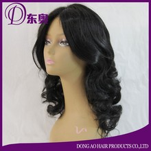 cheap beautiful long body wave synthetic wig lace front wig