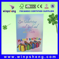 Distinctive sample birthday greetings for companies