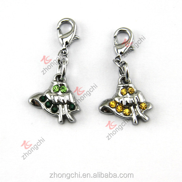 Jingle bell charms, wedding bell charms pendant for fashion decoration