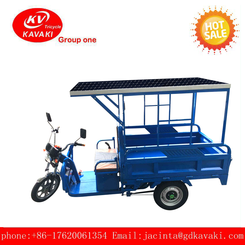 2017 New 60V 32Ah 900W KAVAKI Three Wheel Electric Cargo Tricycle For Sale