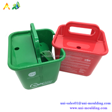 Custom NSF PP material plastic basket wholesale