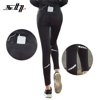 2018 new design polyester-spandex women yoga wear tight yoga workout leggings