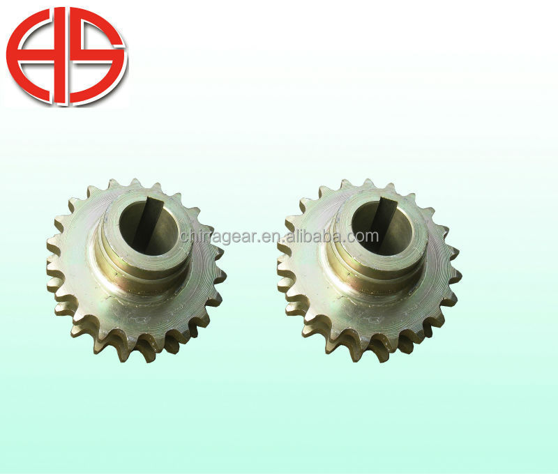 sprocket with double chain