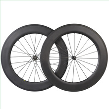 tubular road carbon wheelset OEM full tubular carbon road bike wheelset