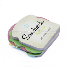 New production customized promotion custom die cut sticky notes