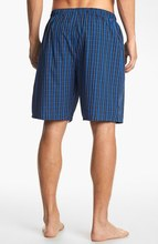 Harwich Plaid Soft Woven Cotton Sleep Shorts For Men