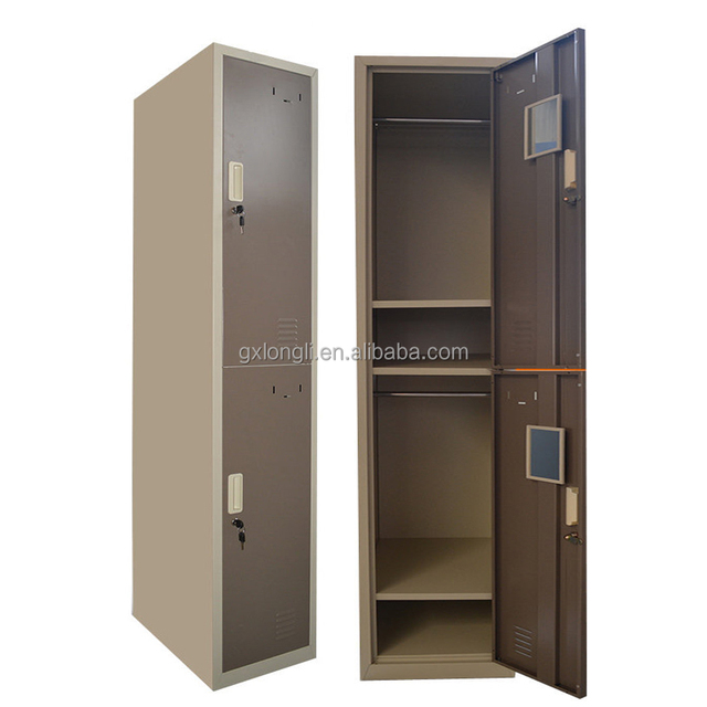 Almirah Design High Quality 2 Door Metal Locker,clothes Steel Locker,compartment  Locker Cabinet