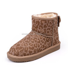 High Quality Australia Brand Classic Tall Snow Boots for Women Leather Winter boots Shoes
