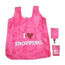 Advertising Polyester Polyester Folding Shopper Bag With Fruit Shape Pouch