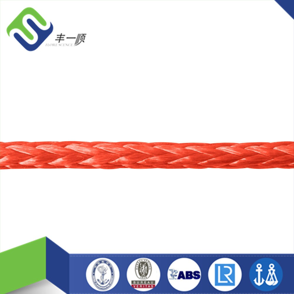 12 strand UHMWPE rope for cruising/UHMWPE sailing rope