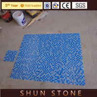 swimming pool tile glass mosaic