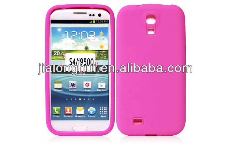 2013 New Arrival Samsung Galaxy S4 Silicone Case Samsung i9500