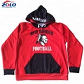 Factory sublimation printing oem hockey hoodie