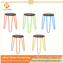 new design cheap stackable kitchen steel stool for wholesale