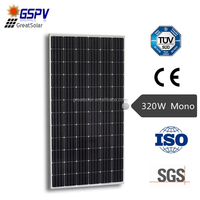 high efficiency 320w mono pv solar panel price per watt