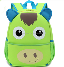 2016 new style personalized cute animal shaped kids school bag