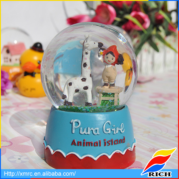 Nativity funny water globe homemade snow globes for kids