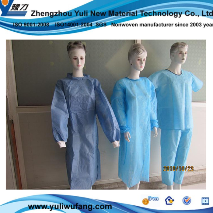 PE membrane High Quality Pp Spunbonded Nonwoven Fabric PP + PE Film Laminated Nonwovens,disposable medical