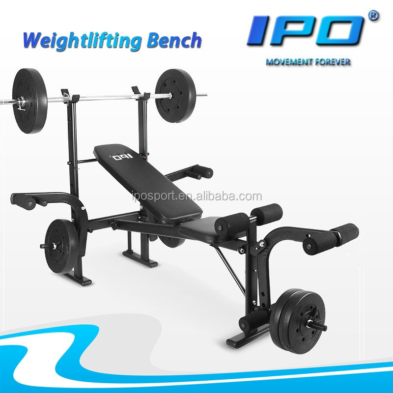 gym equipment multi function exercise adjustable AB abdominal bench