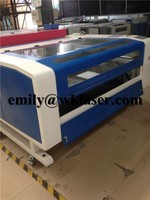 150W leather fabric co2 laser cutter machines for small business hot sale with Alibaba Trade Assurance