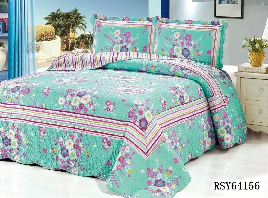 wholesale hot sale in Arab patchwork bed sheet designs quilts for adult beds with pillow cases