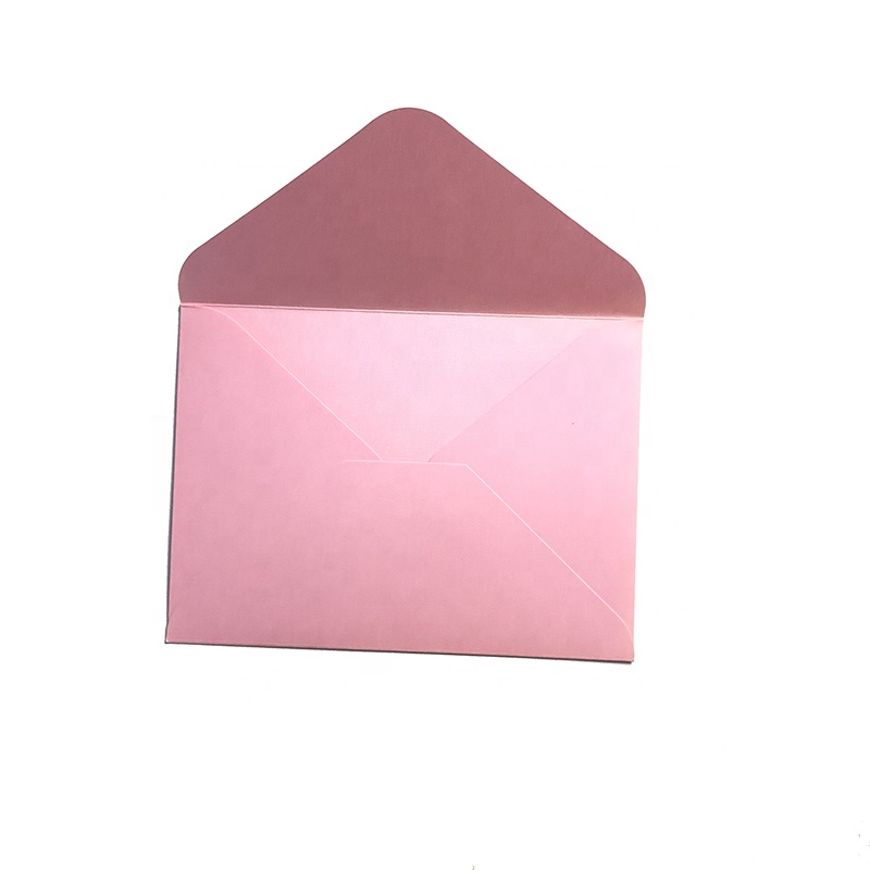 High End Wedding Invitation foil Paper Envelope