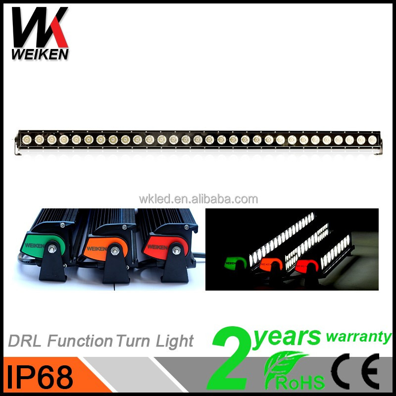 Warranty 2 years 300w off road multi color led light bar,led driving light waterproof ip68