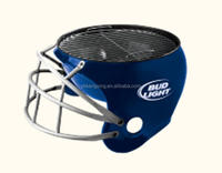 with curvy and seductive metaleork helmet bbq grill china kangxing manufactory