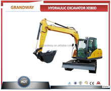 2017 8T XE80D hydraulic bucket excavator for sale