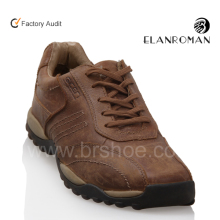 Men brown casual leather sport shoes strictly comfort brand shoes manufactures men sport shoes
