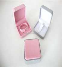 Modern Style Full Color Velvet Fabric Jewelry Box For Ring,Earring,Pendant,Bangle,Bracelet,Necklace,And So On