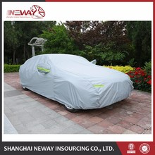 New design cheap price clear waterproof plastic car cover