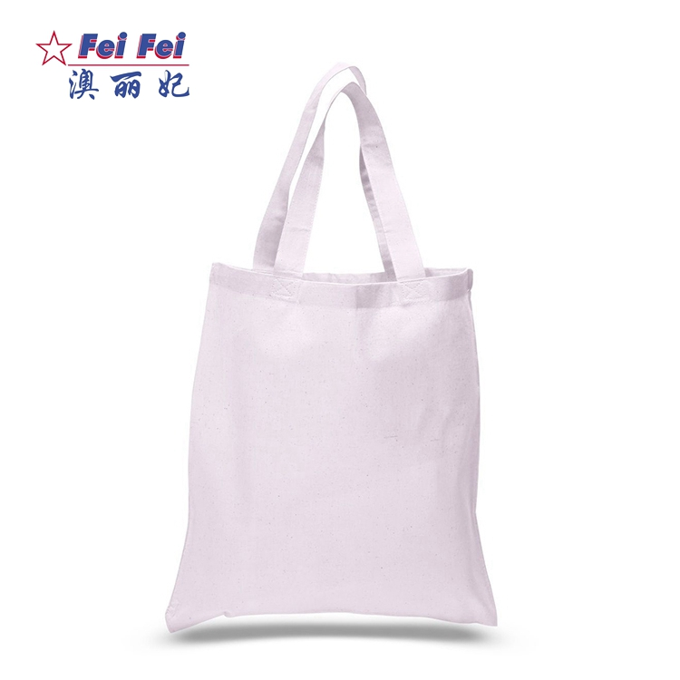 New arrival durable big canvas cotton picking sublimation blank tote bags