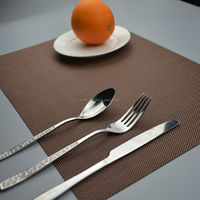 Non-slip PVC Heat Insulation Stain-resistant Dining Room Placemats
